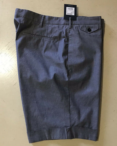 NWT $295 INCOTEX Mens Short Pants Slim Fit DK Blue 38 US ( 54 Eu )