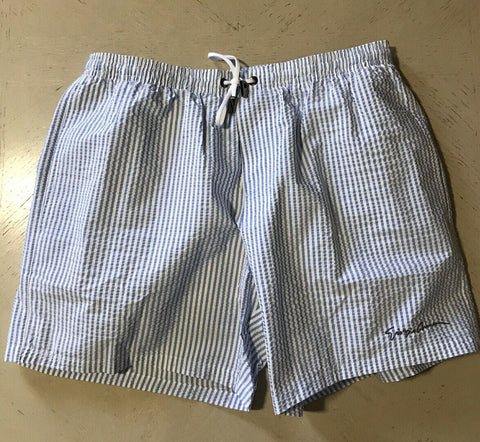 NWT $345 Giorgio Armani Mens Swim Short Pants Blue 32 US ( 48 Eu )