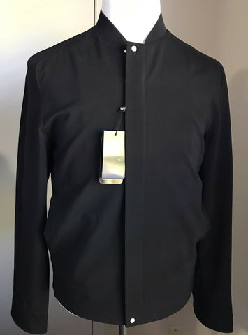 New $1045 Emporio Armani Men Jacket Coat Black 42 US ( 52 Eu ) Italy