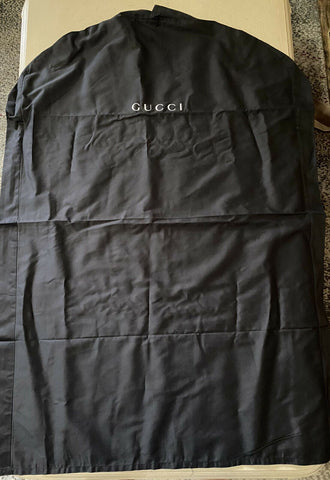 Brand New Gucci Garment Suit Overcoat Dress Any Clothing Black Bag
