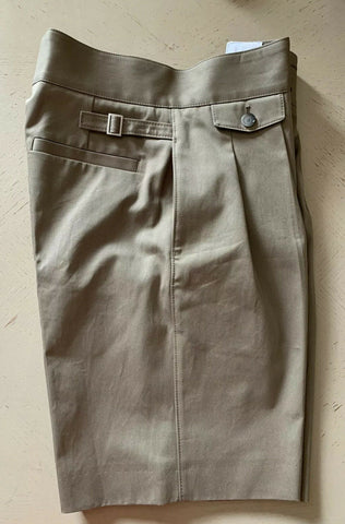 New $455 Boss Hugo Boss Mens Short Pants Open Beige 30 US ( 46 Eu ) Germany