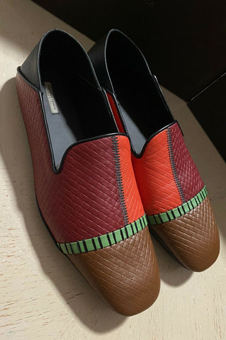 NIB $710 Bottega Veneta Men Leather Loafer/Sandal Shoes 4 Colors 13 US/46 Eu
