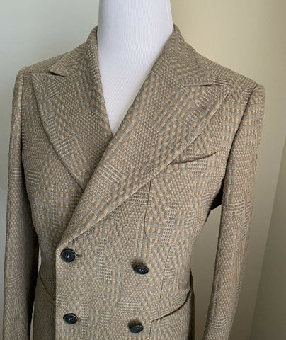 NWT $2895 Giorgio Armani Men Sport Coat Jacket Blazer LT Brown 38R US/48R Eu Ita