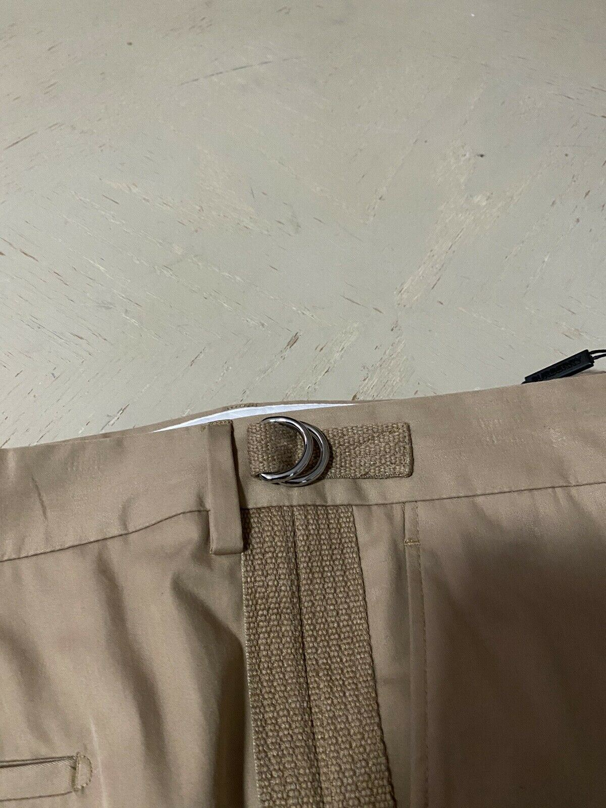 NWT $630 Burberry Mens Pants Pale Coffee 38 US Italy