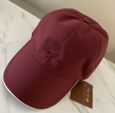 NWT Loro Piana Mens Baseball Hat Tibetan Red Size L Italy