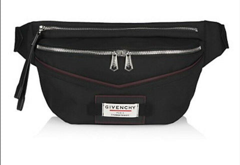New Givenchy men Downtown Large Belt Bag Black Italy