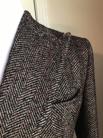 New $2850 Bottega Veneta Sport Coat Jacket Multi- Color 42 US ( 52 Eur ) Italy