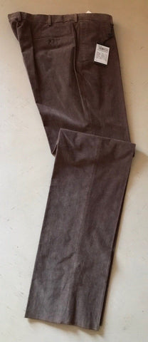 NWT $825 Ermenegildo Zegna Cashco Light Pants DK Brown 32US ( 48 Eu ) Portugal