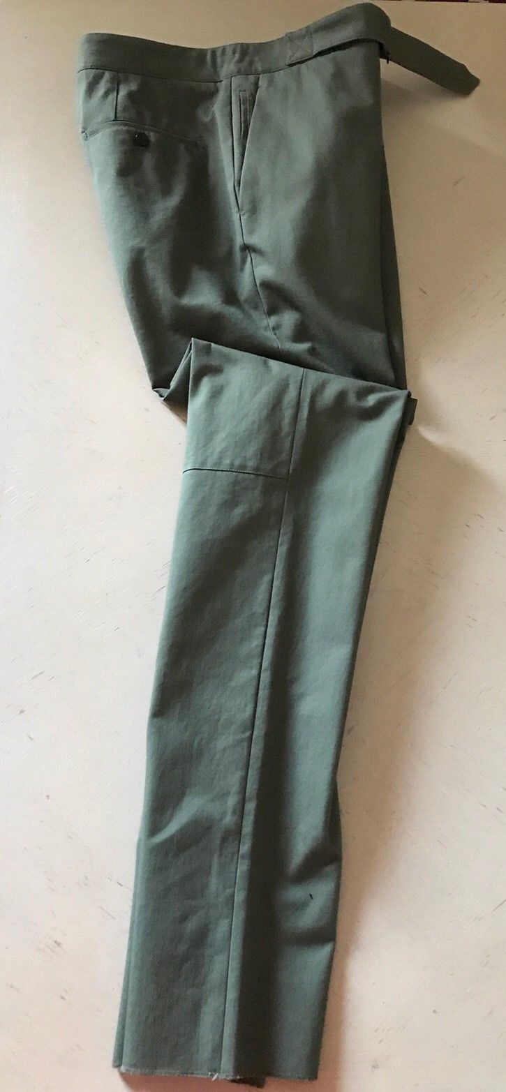 NWT $565 Roberto Cavalli  Mens Dress Pants Green Size 32 US ( 48 Eu ) Italy - BAYSUPERSTORE