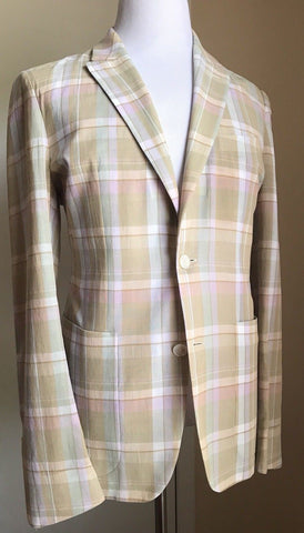 New $2695 Ermenegildo Zegna Couture Sport Coat Blazer Multi-Color 42 US ( 52 Eu) - BAYSUPERSTORE