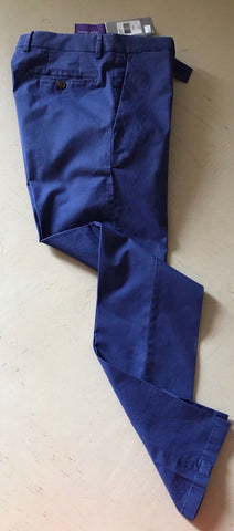 NWT $450 Ralph Lauren Purple Label Mens Pants Blue 30 US ( 46 Euro ) Italy