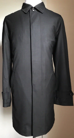 New $2195 Ermenegildo Zegna Coat Trench Coat Dark Gray 40 US ( 50 Eur ) Italy - BAYSUPERSTORE
