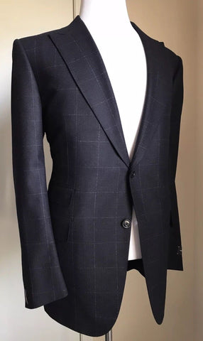 New $2995 Ermenegildo Zegna Suit NVY Blue 46 US ( 56 Euro) Switzerland
