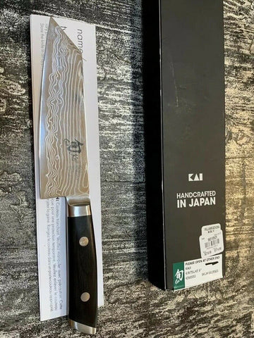 New With Box SHUN Kiritsuke 6 Knife KDM0053 Hand made In Japan
