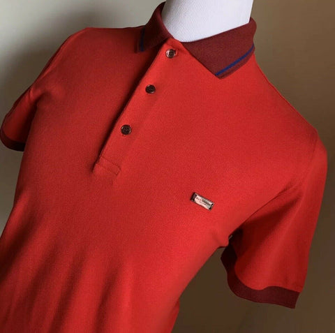 NWT $295 Burberry London Mens Polo Shirt Red Size S US