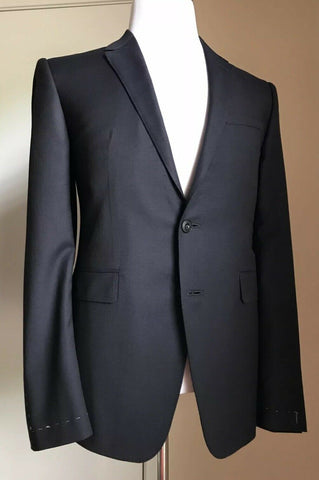 New $4895 Burberry London Men Suit Navy 40R US ( 50R Eu ) Hand made In England