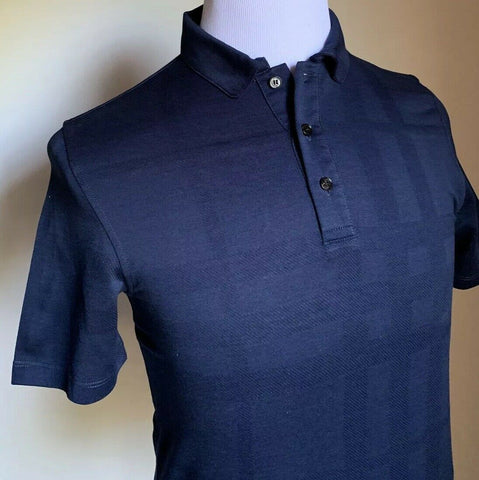 NWT $395 Burberry London Mens Polo Shirt Navy Size S US
