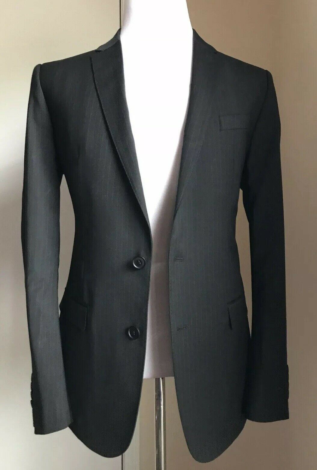 New $1795 Dolce & Gabbana Men Sport Coat Blazer Black 40R US ( 50R Eu )
