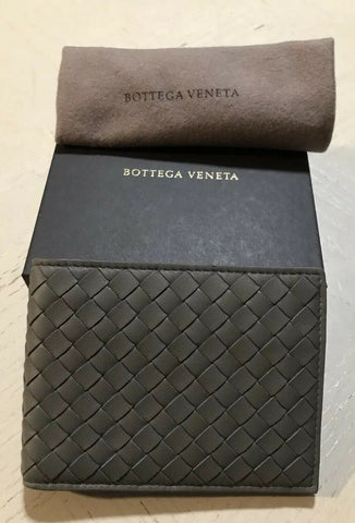 New Bottega Veneta Mens Wallet Dark Gray 148324 Italy