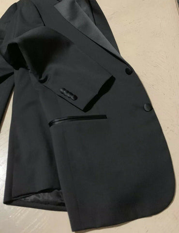 New $2975 ISAIA Napoli Tuxedo Sport Coat Jacket Blazer Black 40C US ( 50 C Eu )