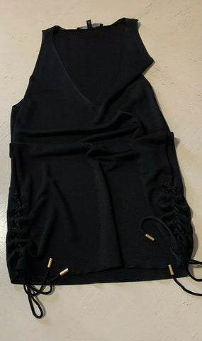 $1245 Gucci  Women's Blouse Black Size M Made In Italy