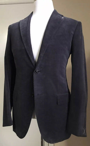 New $3620 Ermenegildo Zegna Cashco Light Suit NVY SLD 38 US ( 48 Euro) Italy
