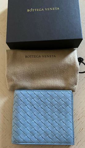 New Bottega Veneta Mens Wallet Blue 113993 Italy