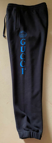NWT $875 Gucci Mens Sweat Pants DK Gray/Black Size XXL Made in Italy