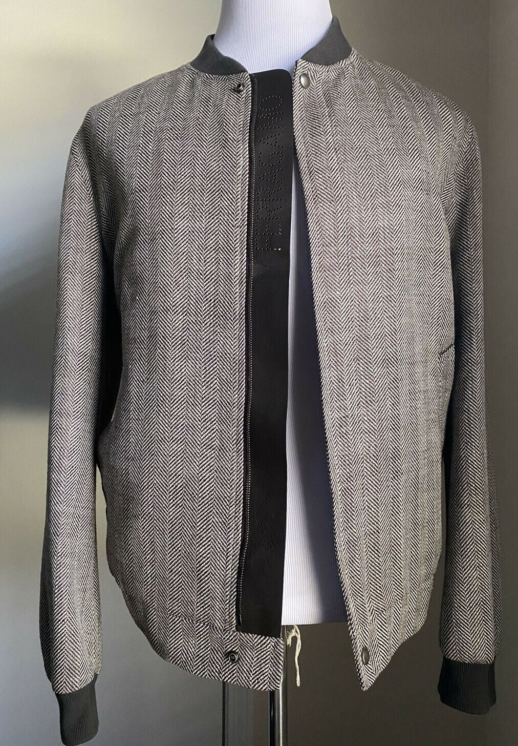 New $1850 Salvatore Ferragamo Mens Jacket Coat Brown 42 US (52 Eu) Italy