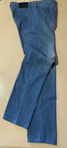 NWT $995 Brioni Mens Jeans Pants Blue 37 US Italy