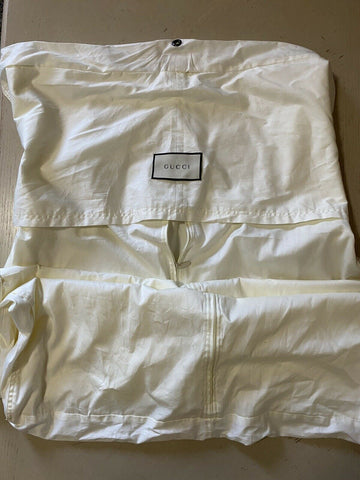 Brand New Gucci Garment Overcoat Dress Any Clothing White Long Bag