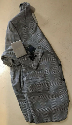 NWT $5020 TOM FORD Mens Sport Coat Jacket Blazer Gray 40R US/50R Eu Italy