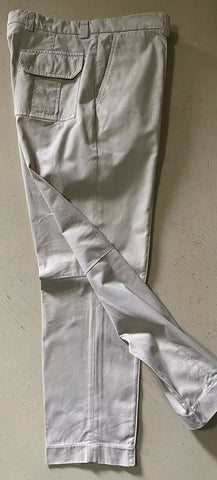 $845 Brunello Cucinelli Mens Pants Ivory 36 US ( 50 Ita ) Italy