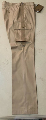 NWT $630 Burberry Mens Pants Pale Coffee 36 US Italy