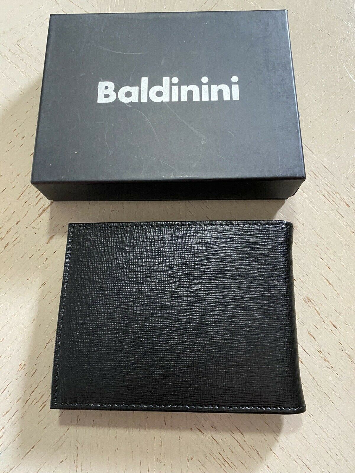 New Baldinini Mens Wallet Black Italy