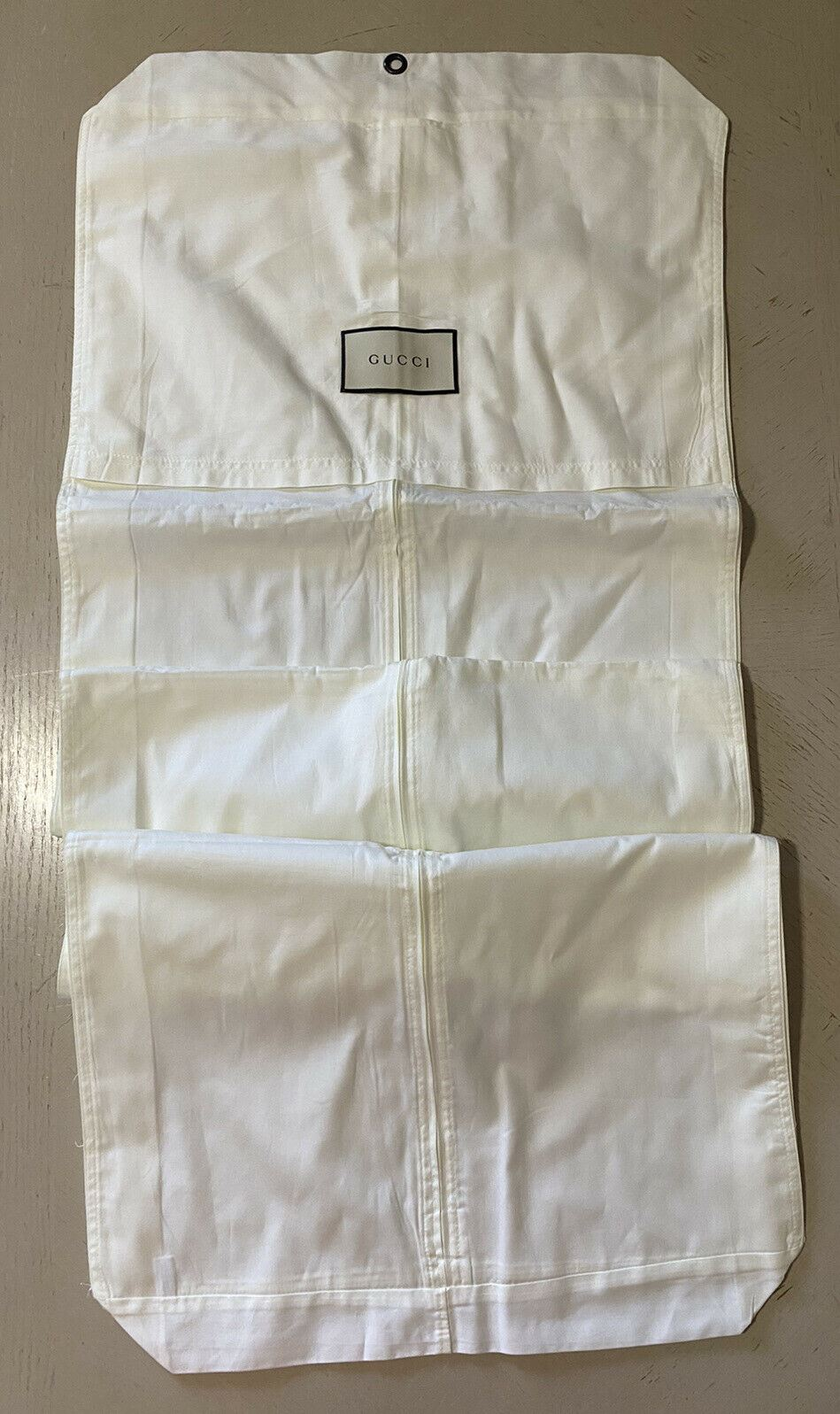 Brand New Gucci Garment Suit,  Any Clothing Unisex White  Bag