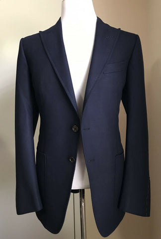 NWT $3090 TOM FORD Men O'Connor Sport Coat Jacket Blazer Navy 44 US/56 Eu Switz