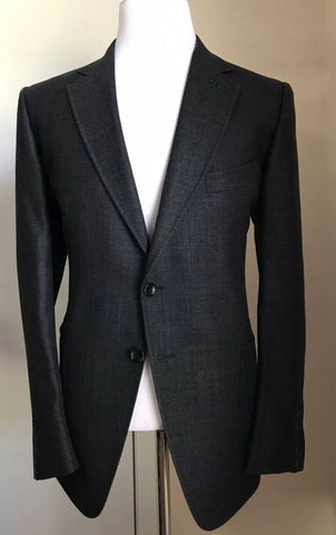 NWT $3740 TOM FORD Men O'Connor Sport Coat Jacket Blazer DK Gray 43 US/54 Eu