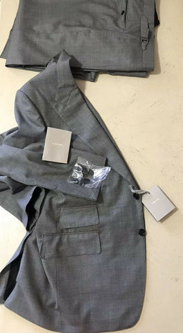New $4190 TOM FORD Mens Windsor Wool Suit Gray 44 US ( 56 Eu ) Italy
