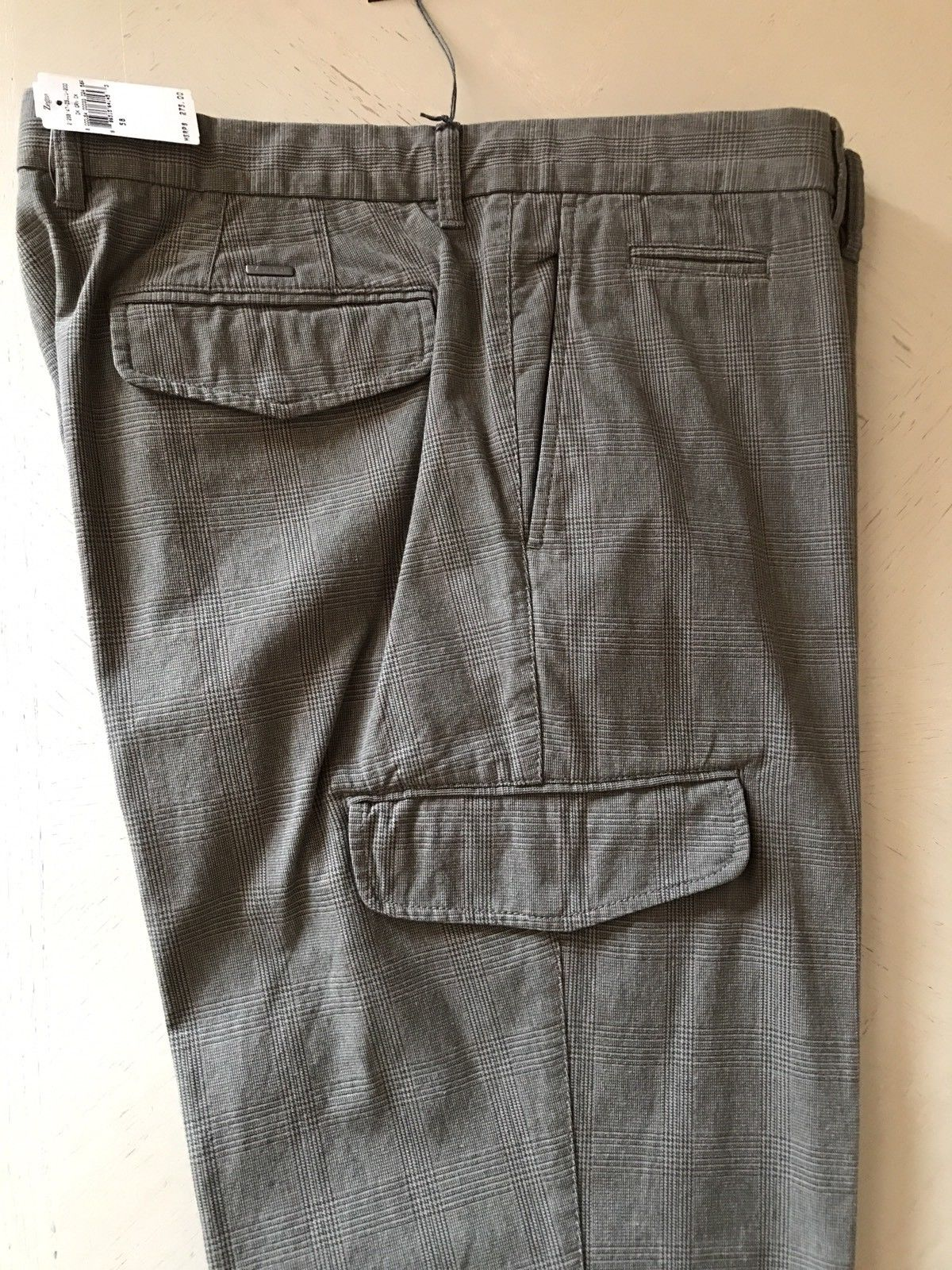 New $275 Zegna Spot Pants Slim Fit DK Green CK 40 US ( 58 Eur ) - BAYSUPERSTORE