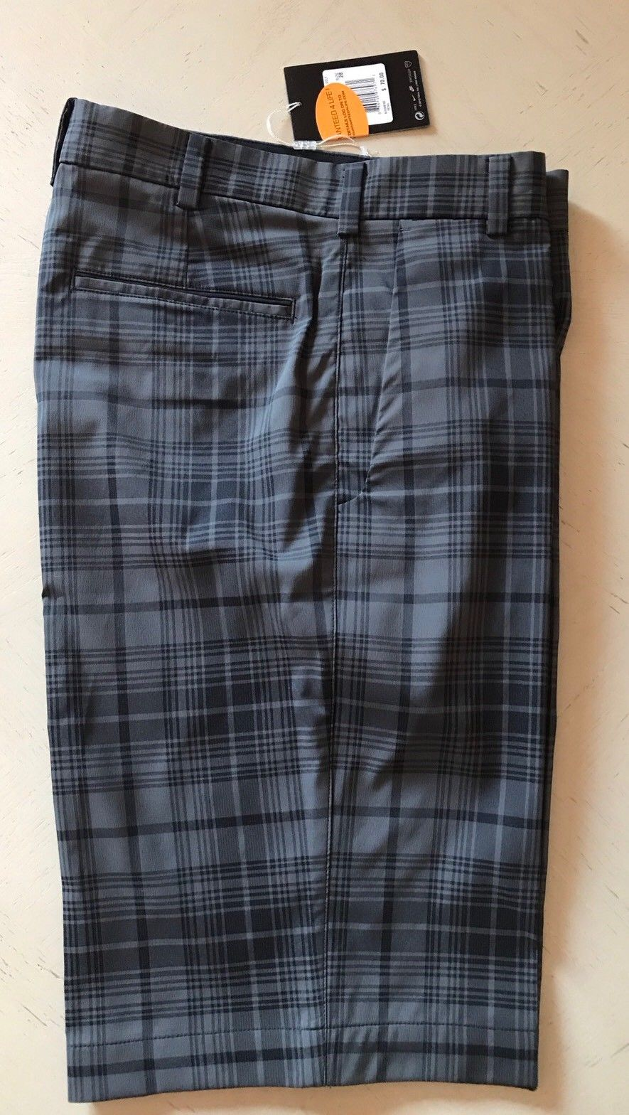 New $70 Nike Golf Short Pants DK Gray Size 28 - BAYSUPERSTORE