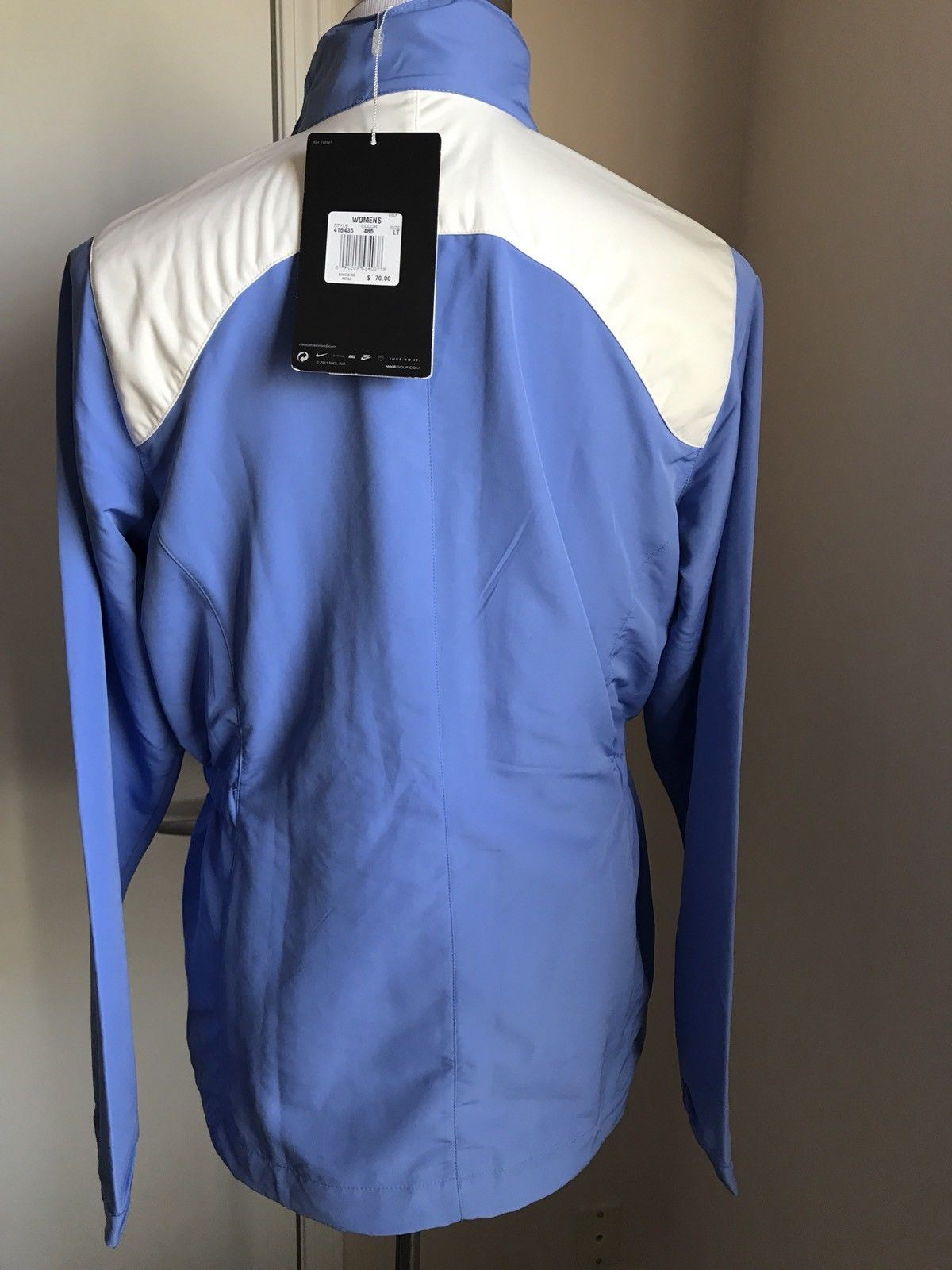 New $70 Nike Men's Shirt Jacket Blue Size L - BAYSUPERSTORE