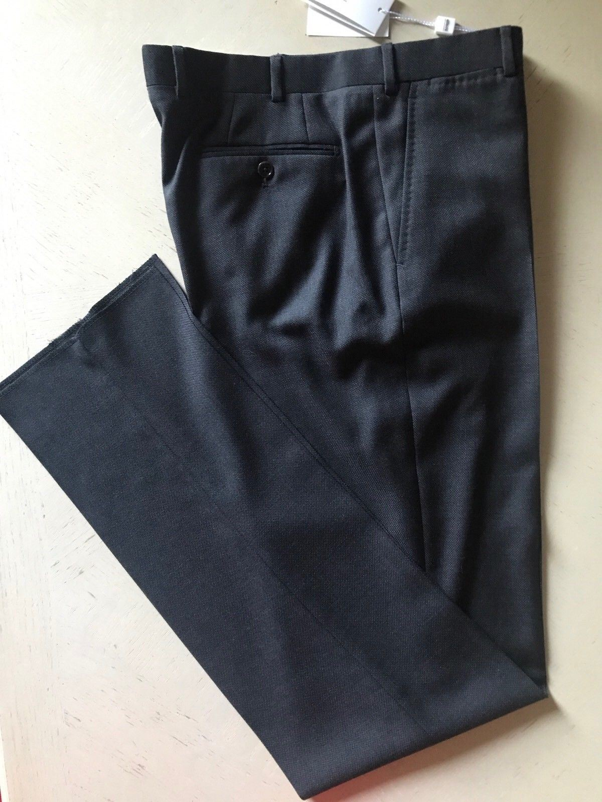 New $395 Armani Collezioni Men's Pants Dark Gray 34 US ( 54 Eu )
