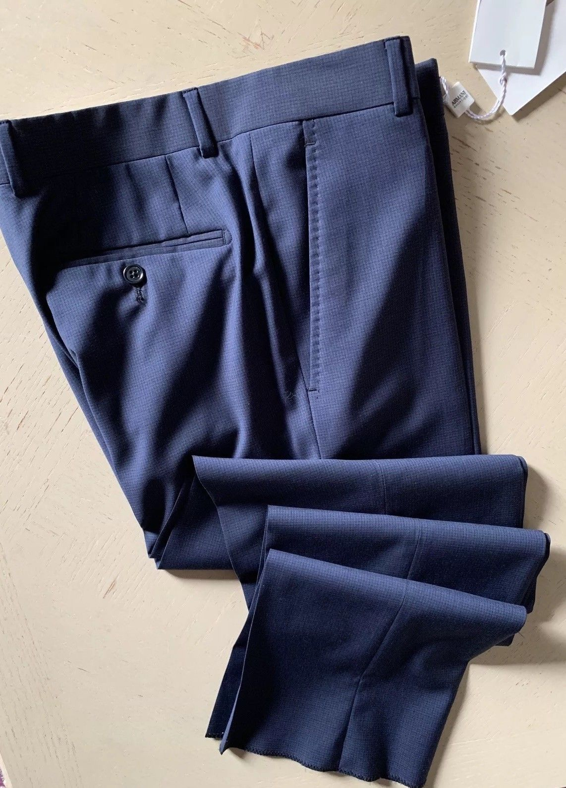 New $450 Armani Collezioni Men's Pants Blue 28 US ( 44 Eu )