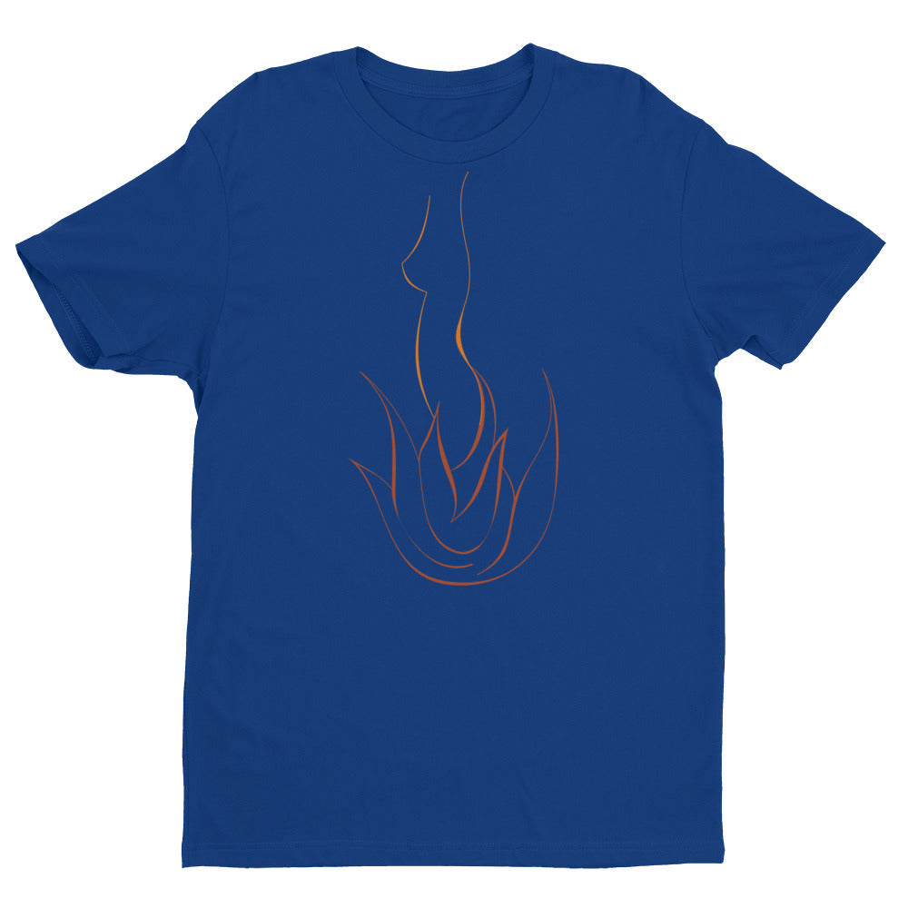 Next Level 'Fire GIrl' Men's Short Sleeve T-shirt - BAYSUPERSTORE