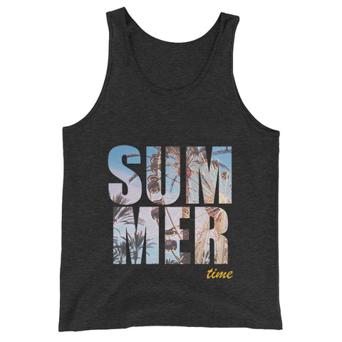 Bella 'Summer Time' Unisex Tank Top - BAYSUPERSTORE