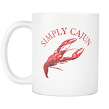 Simply Cajun Crawfish Mug