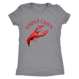 Simply Cajun Crawfish - Women's Next Level Triblend