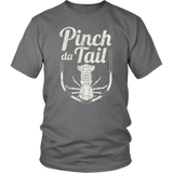 Pinch Da Tail, White - Unisex
