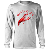 Simply Cajun Crawfish - Long Sleeve Tee